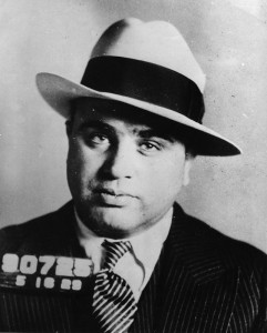 November 1930 - Mugshot of Chicago gangster Al Capone (1899 - 1947), November 1930. (Photo by PhotoQuest/Getty Images)