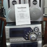 Goodmans sound system with matching speakers and manual £25