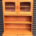 1960s-70s retro display cabinet in lovely condition £75