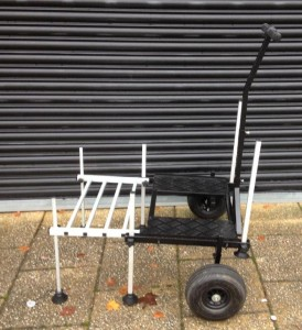 Fishermans trolley with pneumatic tyres in excellent and as  new condition  £40