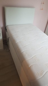 Electric bed complete with mattress in excellent condition and perfect working order £150